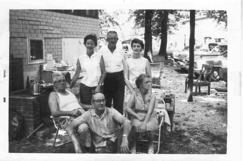 Mowrey Family Reunion 1966
