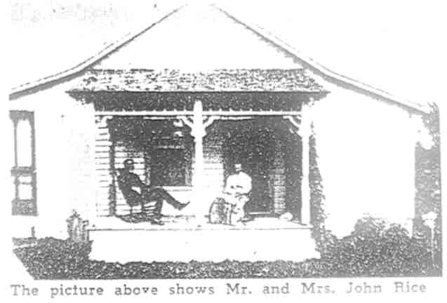 John and Belle (Mowrey) Rice