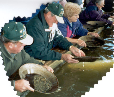 Kenny Gary Berdie Panning for Gold